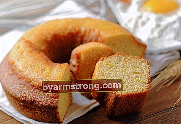 オレンジケーキのレシピ