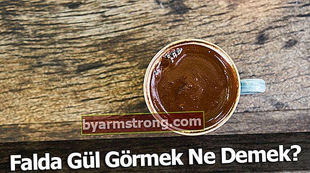 Cosa significa vedere Falda Gül? Cosa significa quando appare una forma di rosa nella tazza di caffè?
