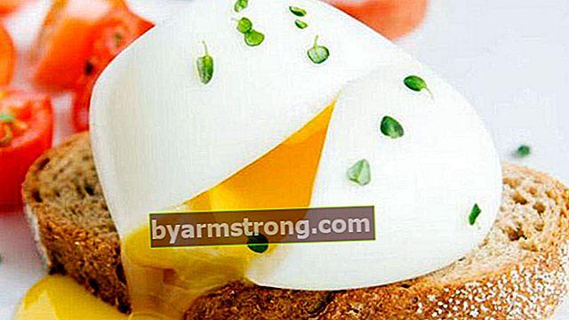 Ricetta dell'uovo in busta - Come preparare le uova in camicia?