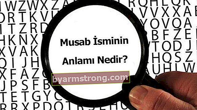 무사브라는 이름의 의미는 무엇입니까? 무사브는 무엇을 의미합니까, 그것은 무엇을 의미합니까?
