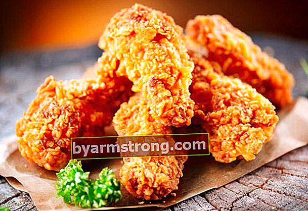 Suggerimenti per cucinare il pollo fritto