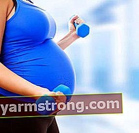 Fare esercizio in gravidanza fa guadagnare 7 chili in meno