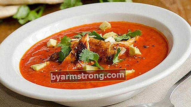 간단하고 쉬운 토마토 수프 레시피-우유없이 토마토 수프를 만드는 방법?