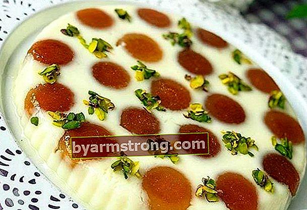 Ricetta del dessert al budino Kemalpaşa