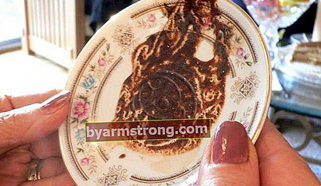 Cosa significa vedere un drago a Falda? Cosa significa quando appare una forma di drago nei cupcakes al caffè?