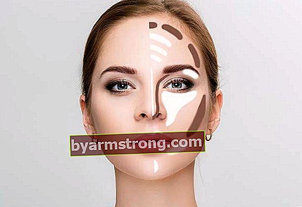 Come applicare i contorni e l'illuminante sul viso?