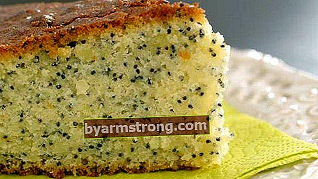 Ricetta della torta ai semi di papavero - Come preparare la torta al papavero?