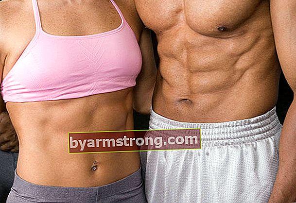 Vita sottile e muscolo addominale a diamante con modellamento del corpo ...