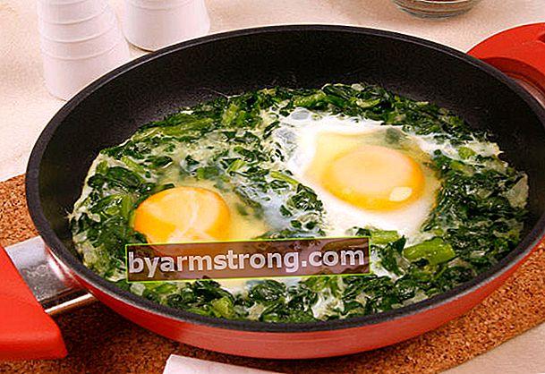 Telur Bayam