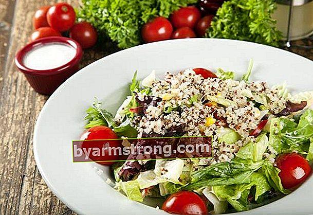 Resep salad quinoa