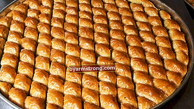 Ricetta baklava facile! Quali sono gli ingredienti del baklava, come si fa in casa?