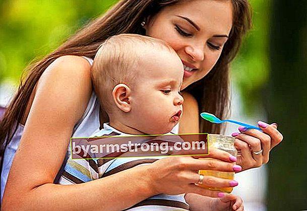 Cosa può mangiare un bambino di 8 mesi?