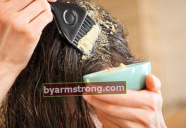 Ricette maschera per i tipi di capelli
