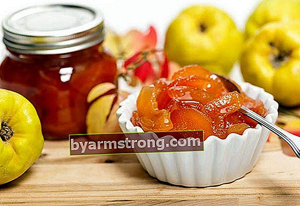 Come preparare la marmellata di mele cotogne sotto pressione?