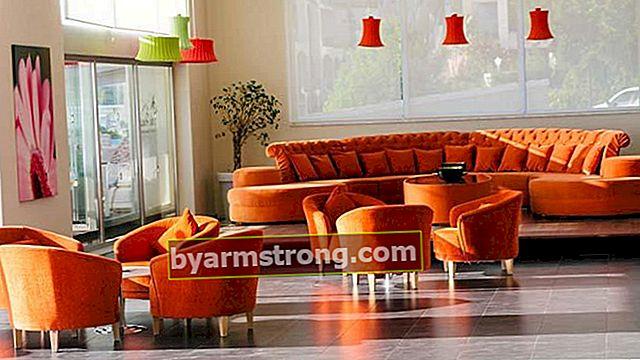 Combinazioni di colori da abbinare all'arancio e alla decorazione della casa