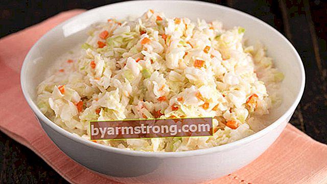 Resep salad 'Coleslaw' bisa Anda buat sendiri di rumah