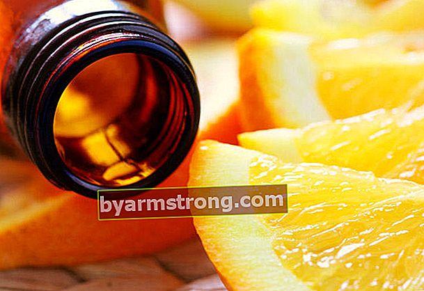 Olio d'arancia per le rughe della pelle