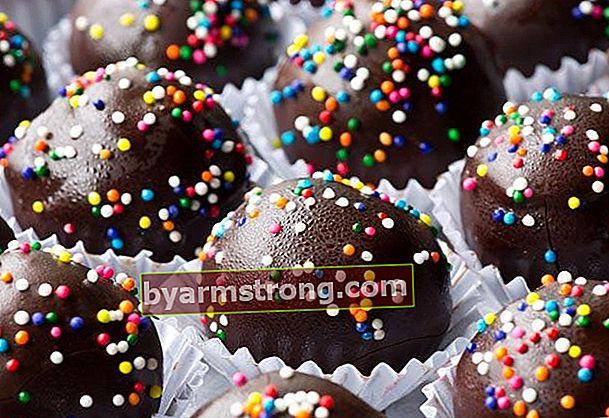 Ricetta delle palline di cioccolato di Capodanno
