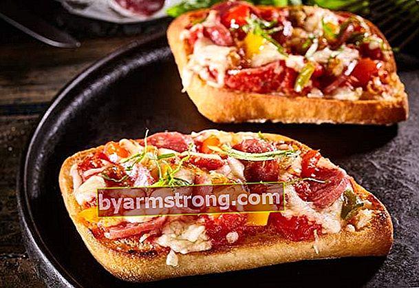 Sarapan praktis roti pizza
