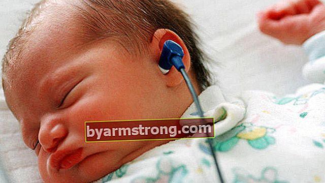การทดสอบการได้ยินสำหรับทารกแรกเกิดต้องทำโดยไม่ต้องปล่อย