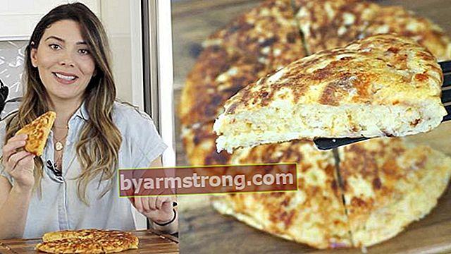 สูตรขนมอาหารเช้า 10 นาที | วิธีทำแพนเค้กมันฝรั่ง