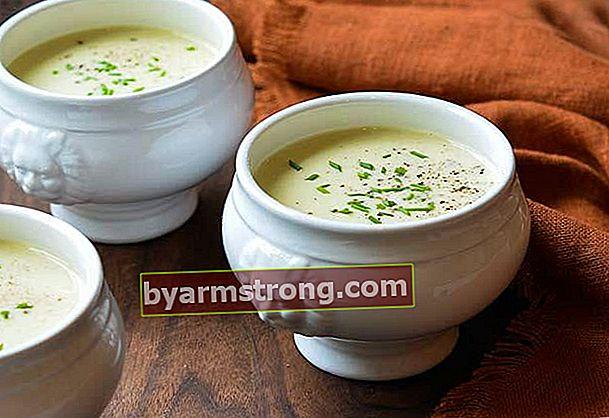 Ricetta della zuppa di porri