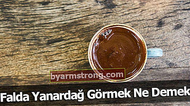 Cosa significa vedere Falda Yanardag? Cosa significa quando la forma del vulcano appare nella tazza di caffè?