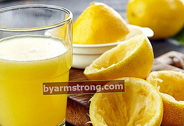 Il succo di limone brucia i grassi?