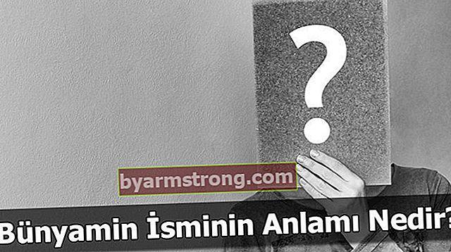 Qual è il significato del nome Bünyamin? Cosa significa Bünyamin, cosa significa?