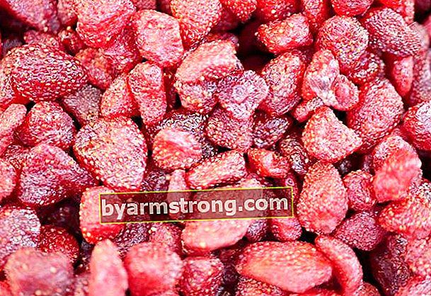 Ricetta per essiccare le fragole