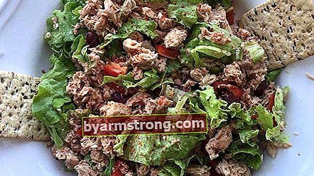Resep salad tuna