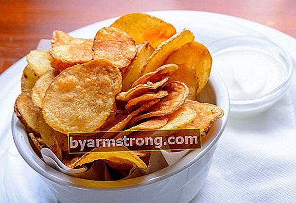 Ricetta di patatine fritte fatte in casa