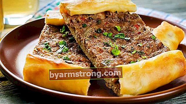 집에서 다진 고기로 피타를 만드는 방법? -다진 고기 레시피를 곁들인 피타