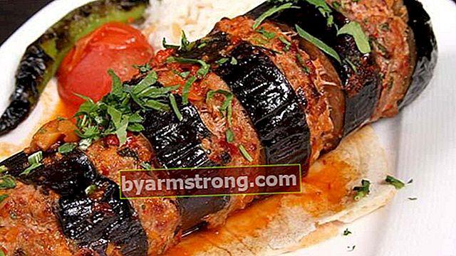 Kombinasi sempurna antara terong dan daging domba: Resep kebab terong