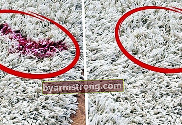 Come rimuovere le macchie di smalto dal tappeto?