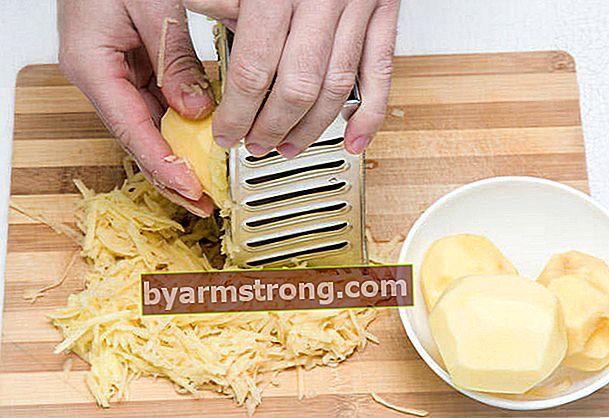 Ricetta maschera di patate di Suna Dumankaya