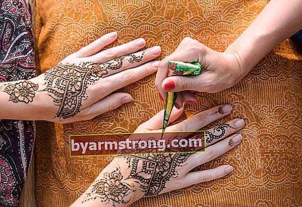 Come si stacca l'henné?