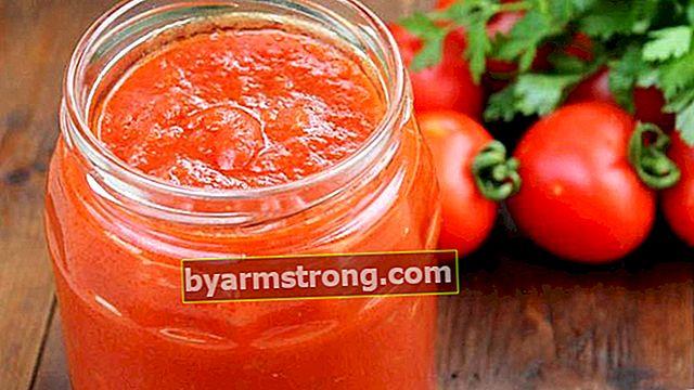 Come preparare la salsa di pomodoro per l'inverno?