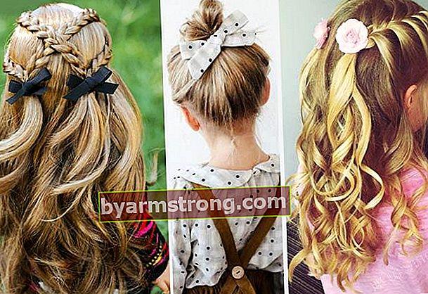Gaya Rambut Kanak-kanak (Gaya rambut yang mudah)